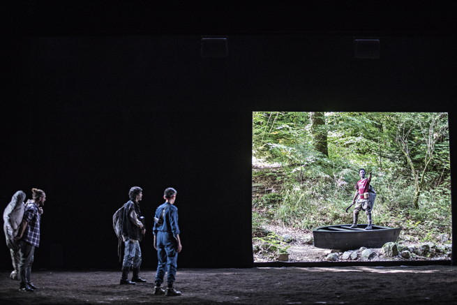« Littoral» de Wajdi Mouawad – mise en scène de Simon Delétang © Jean-Louis Fernandez